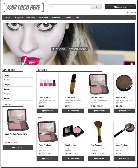 eCommerce Website Platinum Package