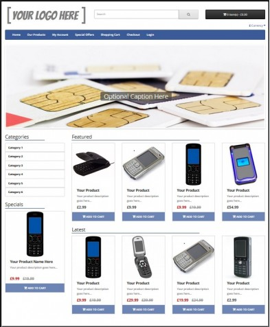 eCommerce Website Silver Package